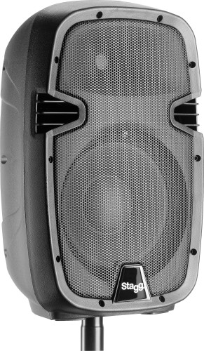 "10"" 2-way active speaker, analog, class A/B, with Bluetooth and reverb, 170 watts peak power"