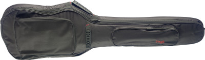 General series padded water repellent nylon bag for electric bass guitar