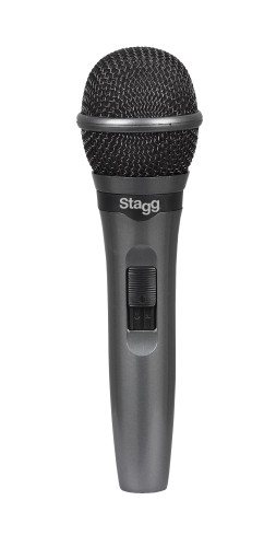 Cardioid dynamic microphone for live performances