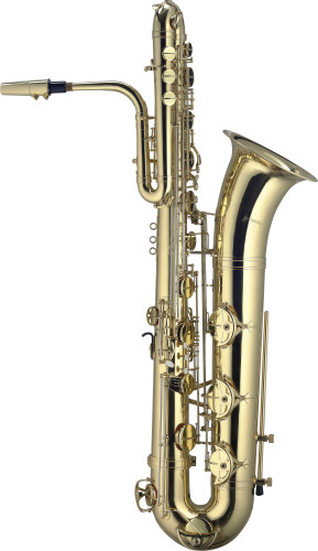 B Bass Saxophon, im Lightcase