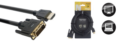 N-Series HDMI 1.4 to DVI Dual Link Cable