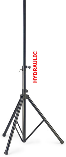 Support pour baffle en acier avec mouvement hydraulique haut/bas