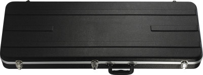 Lightweight ABS hardshell case for electric guitar, rectangular model, Basic series