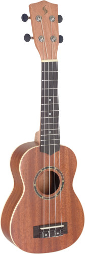 26697Traditional concert ukulele with sapele top and gigbag