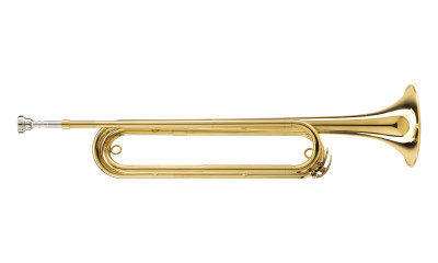 Eb Fanfare Trumpet Cavalry, body in brass