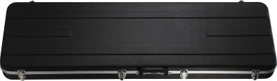 Basic series lightweight ABS hardshell case for electric bass guitar, square-shaped model
