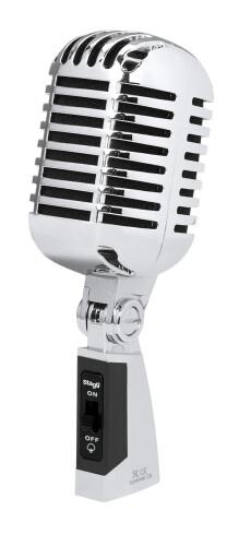 Microphone dynamique cardioïde multifonction de style années 50
