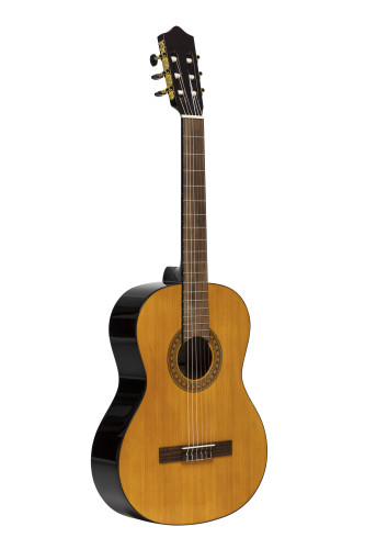 Guitare classique SCL60 avec table en épicéa, de couleur naturelle