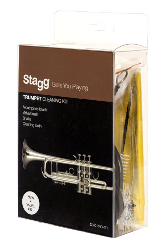 Trumpet cleaning kit