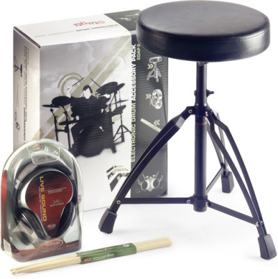 Accessory pack for electronic drums
