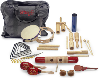 Junior percussion kit with bag