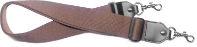 Brown cotton banjo strap