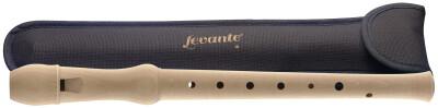 Maple soprano recorder with German fingering