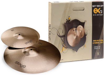 B8 Bronze Cymbal Set for beginners/ students