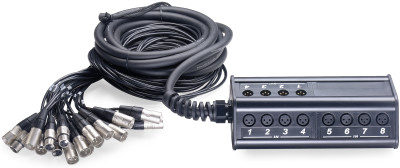 N-Series Stagebox with 16 x XLR inputs/ 4 x XLR outputs