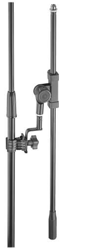 Perche de microphone universelle avec pince pour stand