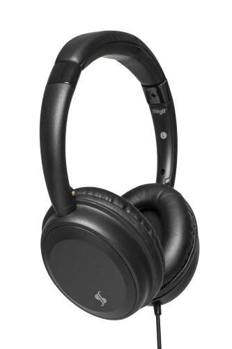 "HiFi Deluxe Stereo Headphones, dynamic type, ""closed back"" design"