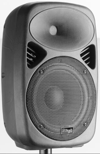 "8"" 2-way active speaker, analog, class A/B, Bluetooth wireless technology, 100 watts peak power"
