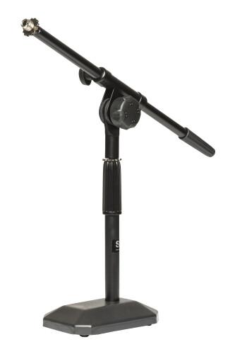 Tisch Mikrofonständer m. Galgen