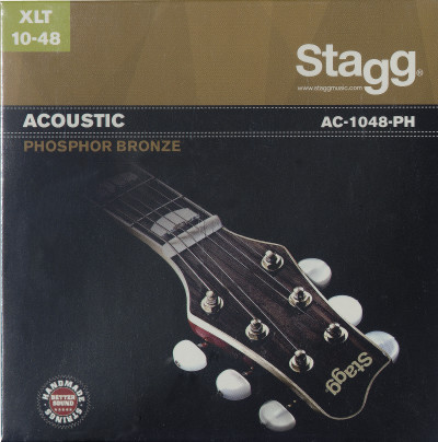 Jeu de cordes phosphor-bronze pour guitare acoustique
