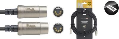 N series MIDI cable, DIN/DIN (m/m), 10 m (33')