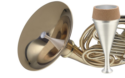 French horn stop mute