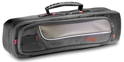 Lightweight, Deluxe wear-proof nylon soft case for concert flute