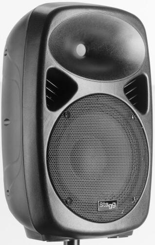 "10"" 2-way active speaker, analog, class A/B, Bluetooth® wireless technology, 120 watts peak power"