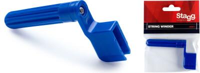 Saitenkurbel m. Vorrichtung um Stegstecker zu entfernen, 1 Stk