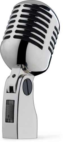 """Microphone dynamique type """"Années '50/'60"""" pour la voix"""