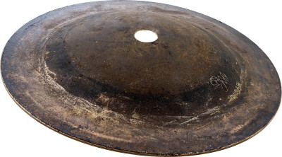 "6""/ 150 mm Black Metal Bell cymbal, Medium"