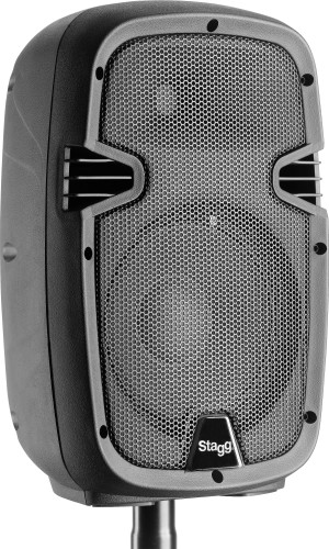 "8"" 2-way active speaker, analog, class A/B, with Bluetooth, 60 watts peak power"
