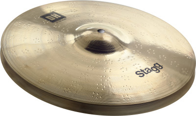 "Dual Hammered 14"" DH Brilliant Fat HiHat - Pair"