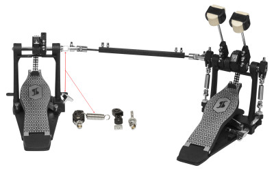 Double bass drum pedal, 52 series