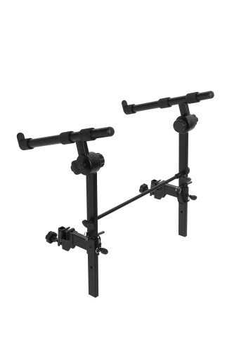 Set of keyboard arms, to mount on a keyboard stand