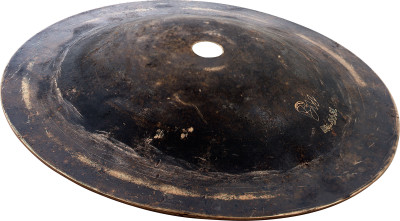 "6.5""/ 165 mm Black Metal Bell cymbal, Light"