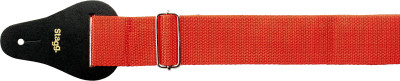 "2"" red Guitar strap"