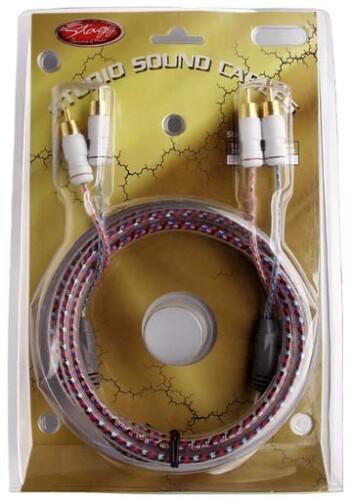 Pro Hifi cable - 2x male RCA-plug/2x male RCA-plug