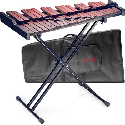 37-key desktop xylophone set