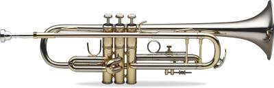 Professionelles Bb Trompete, ML-Bohrung, Schallstück aus Nickelsilber