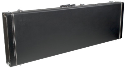 Basic series hardshell case for Heavy XB or HB300 electric bass guitar, square-shaped model