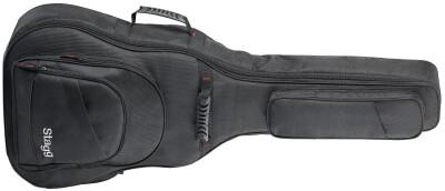 Ndura Serie gepolsterte Tasche aus balistischem Nylon für Western Gitarre
