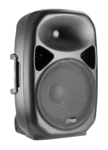 "12"" 2-way active speaker, analog, class A/B, Bluetooth wireless technology, 200 watts peak power"