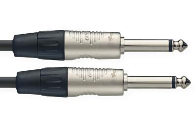 Câble de patch, jack/jack (m/m), mono, 60 cm