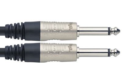 Speaker cable, jack/jack (m/m), 10 m (33')