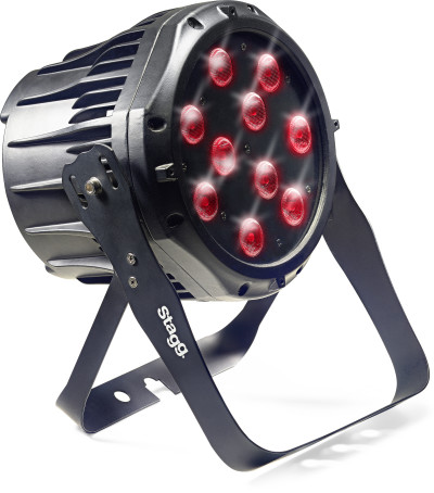 LED spotlight with 10 x 8W RGBW (4 in 1) LEDs