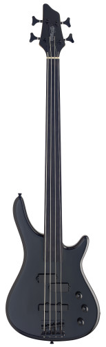 "Fretless, 4-String ""Fusion"" electric Bass guitar"
