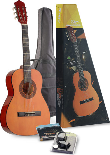 C530 Classical guitar (w/ basswood top) & accessories package