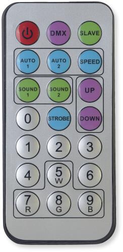 Télécommande Infrarouge pour Stagg Pro Lighting