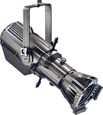 200 watt profielspot, daglicht, zwarte kunststof behuizing (Fixed Lens Spot 200)